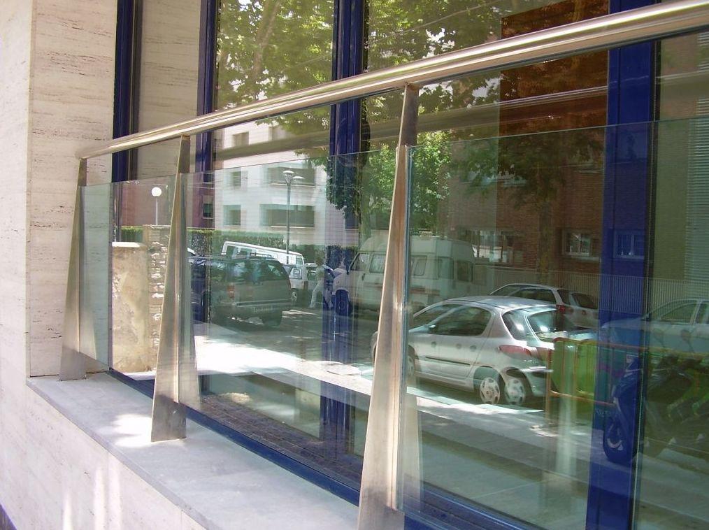 Barandillas metálicas en Pedralbes, Barcelona