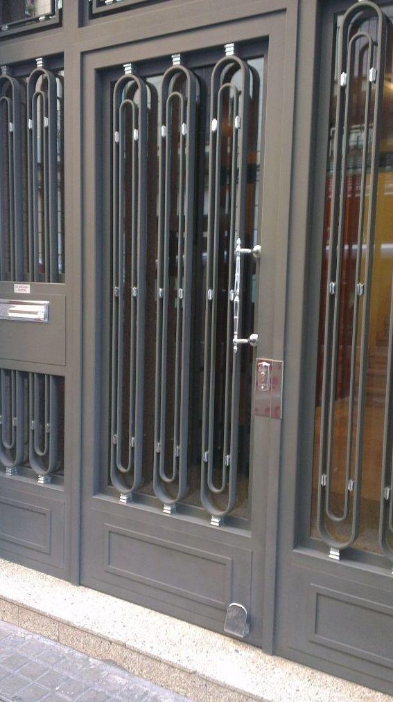 Puertas metálicas en Barcelona