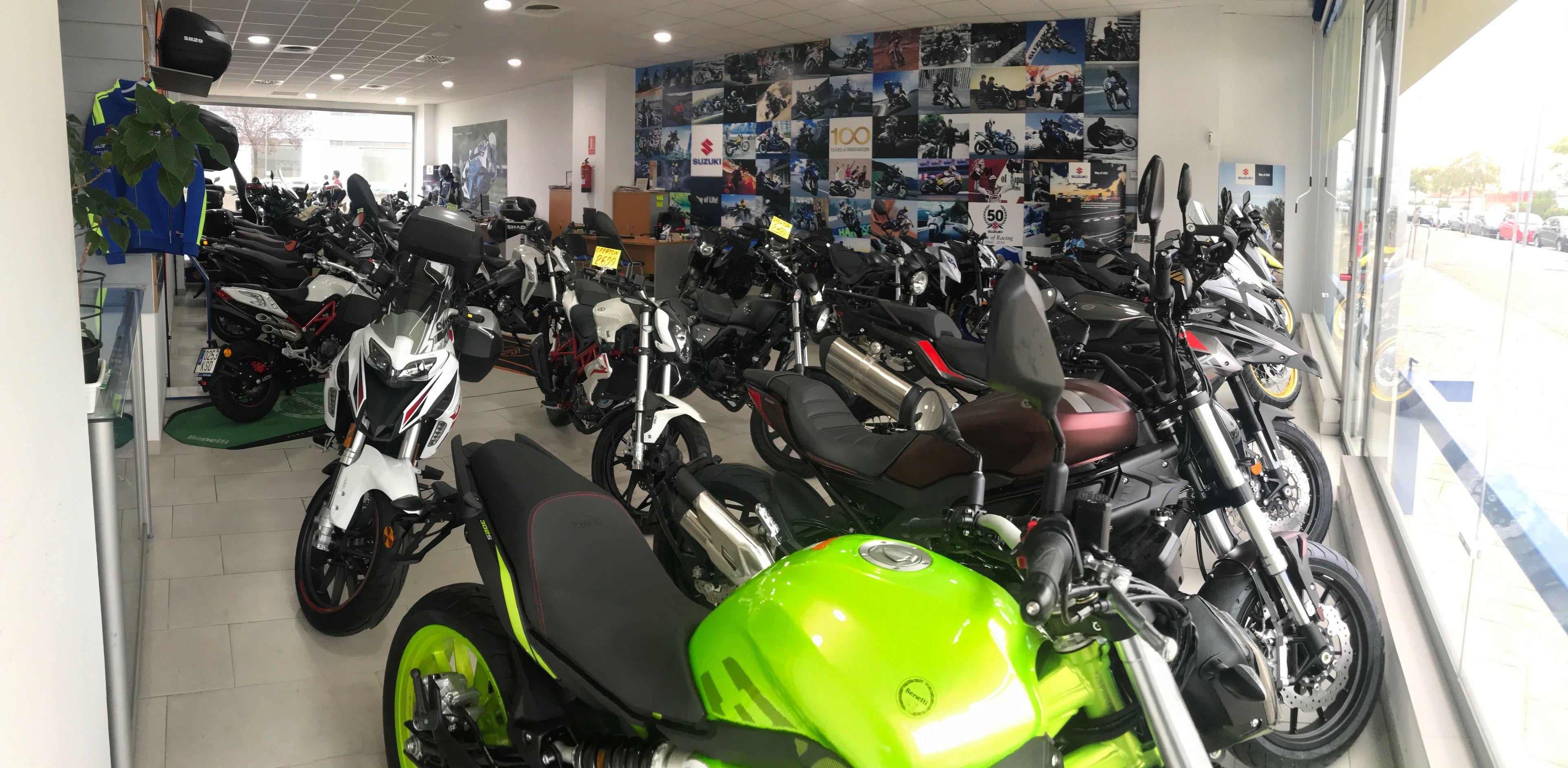 Concesionario de motos en Sevilla
