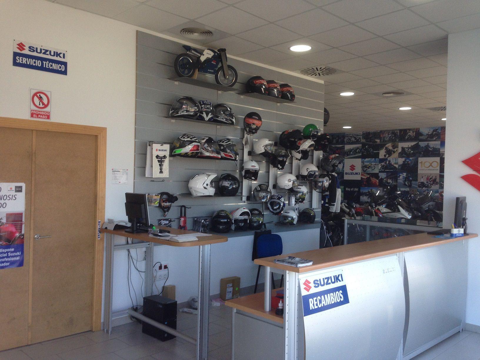 Taller y concesionario de motos Sevilla