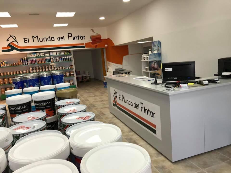 Pinturas industriales y para decoración en Tenerife