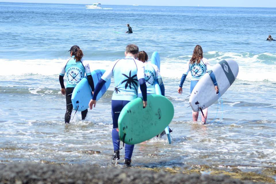Surf equipment rental in Tenerife
