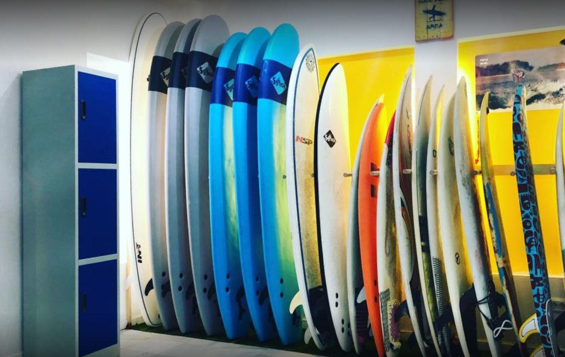 Surf equipment rental: Surf School de Ocean Life Surf School
