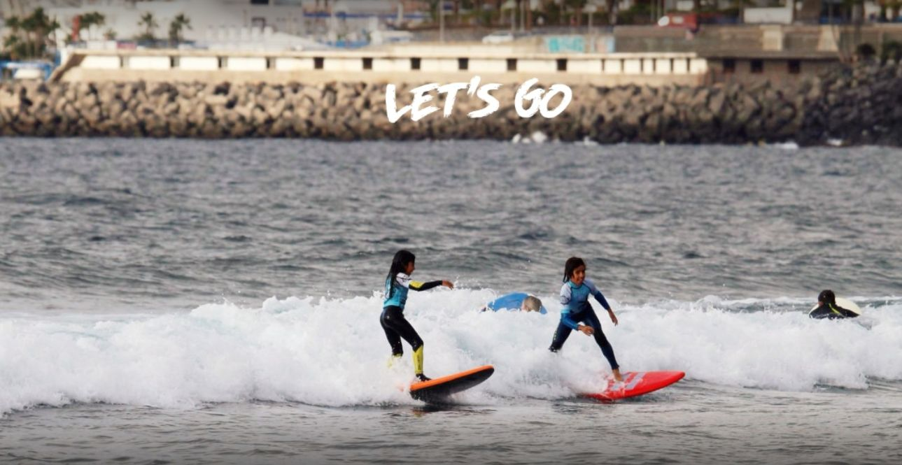 Surf school in Tenerife