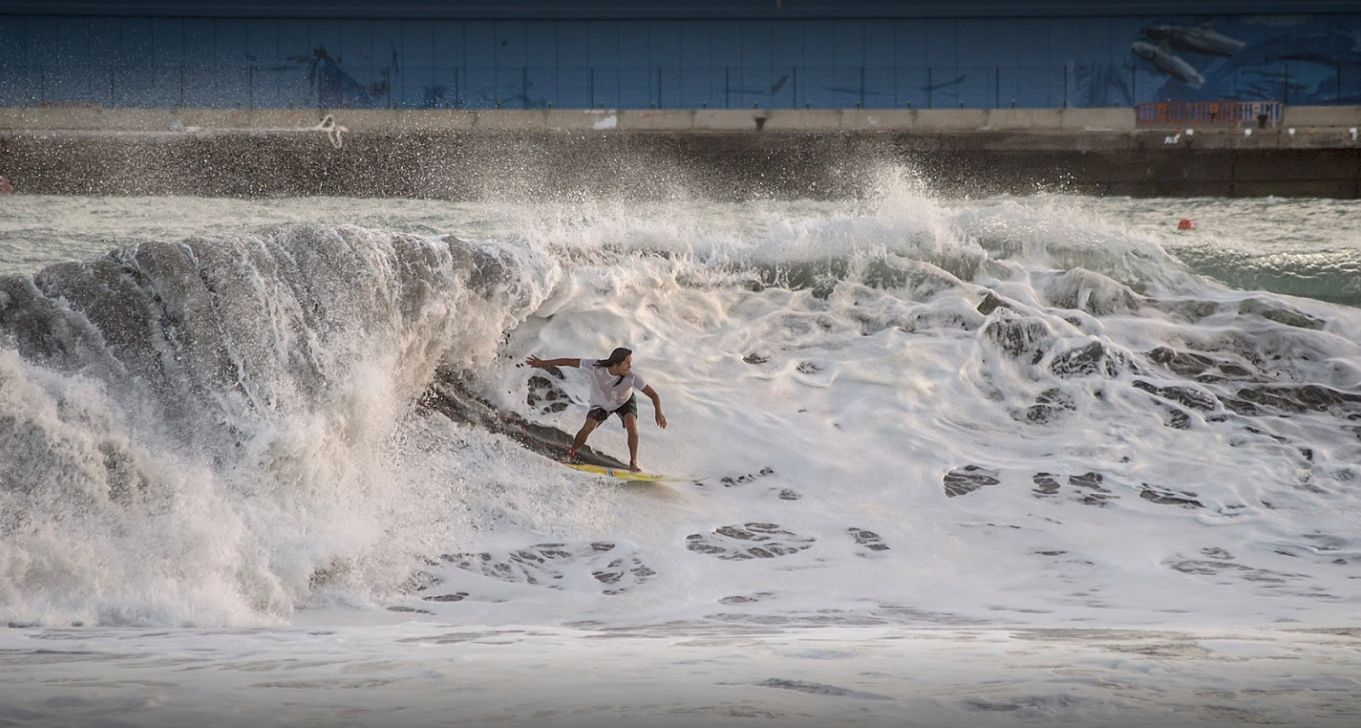 Individual surf lessons
