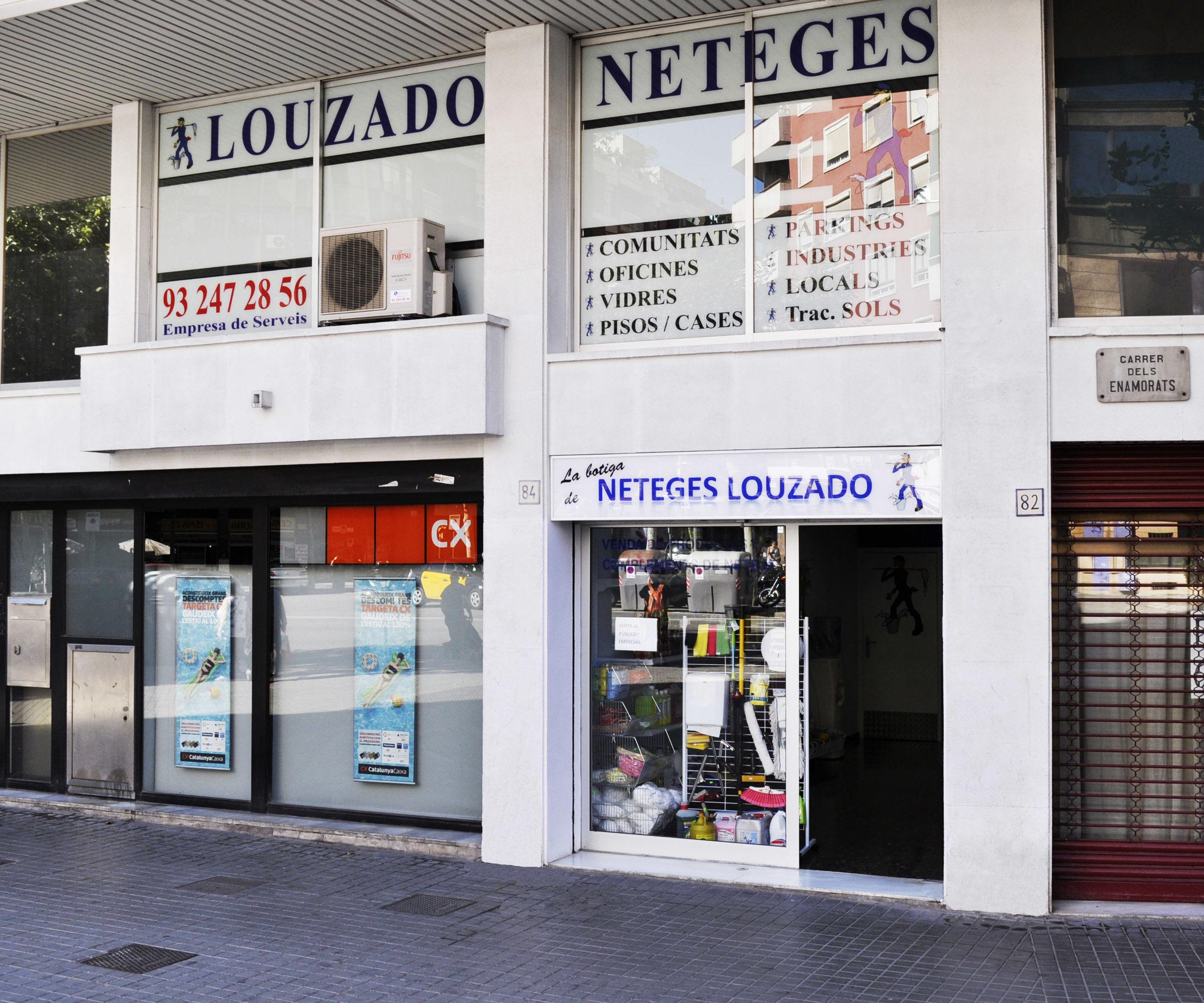 Foto 1 de Limpieza (empresas) en Barcelona | Neteges Louzado, S.L.