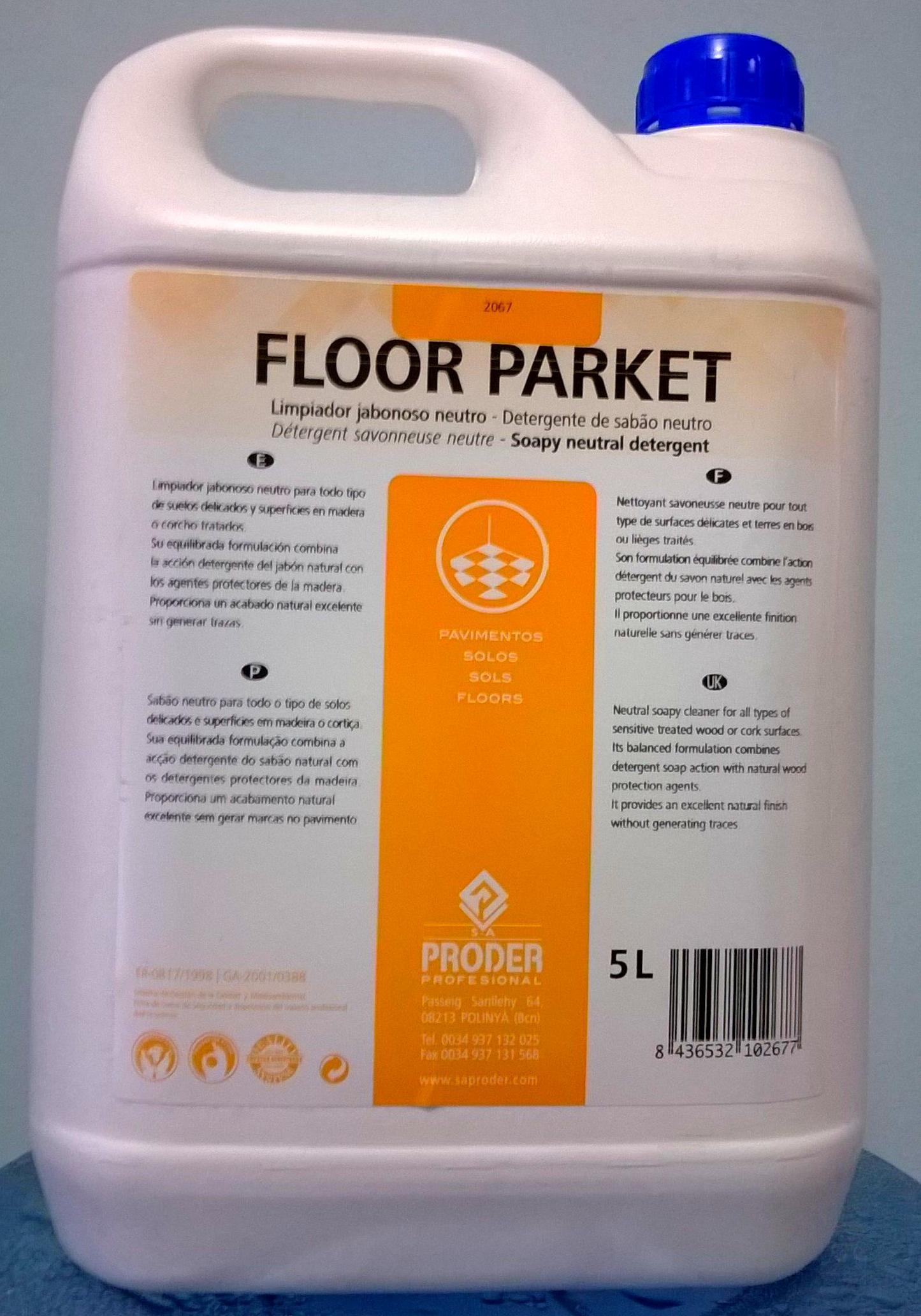 Floor parket 5l servicios y productos de neteges louzado s l - Productos para parquet ...