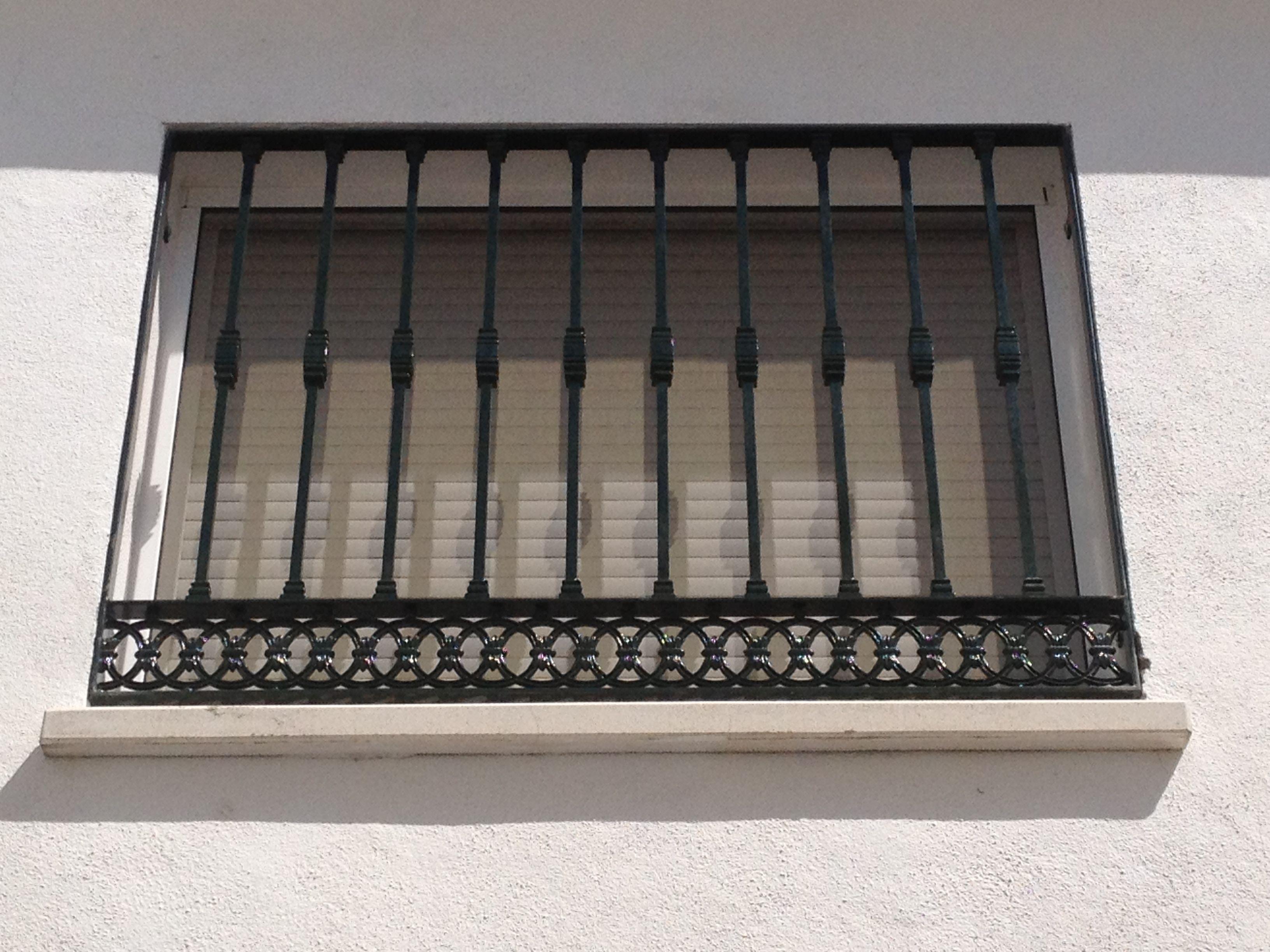 Rejas decorativas en hierro forjado