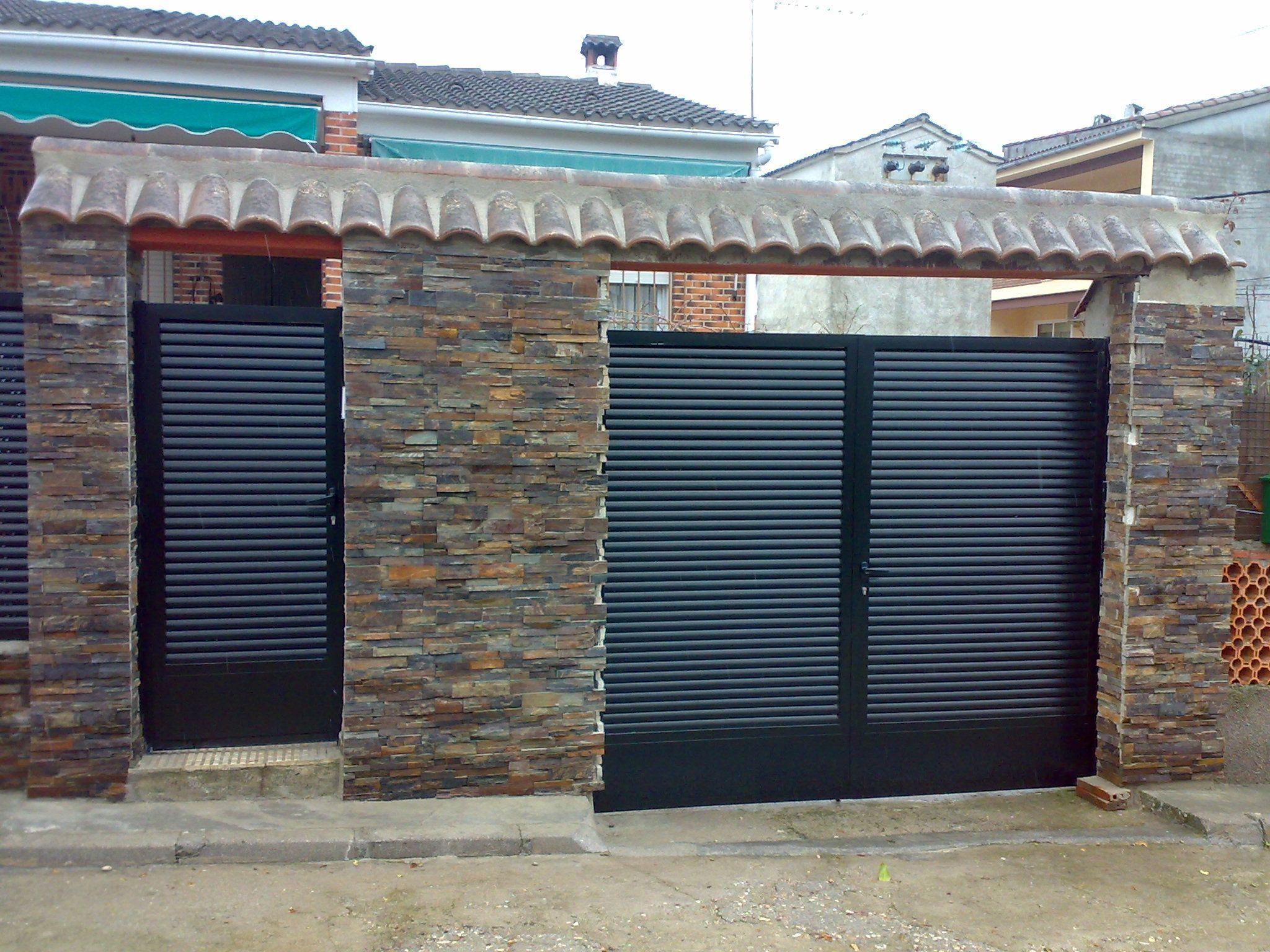 Foto 9 de cerrajer a en alcorc n cerrajer a durat n - Puertas para cerramientos ...