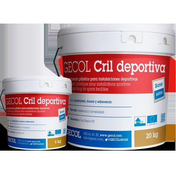 Revestimiento Cril Deportivo: Catálogo de Materiales de Construcción J. B.