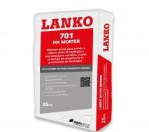 LANKO 701 FIX MORTER: Catálogo de Materiales de Construcción J. B.