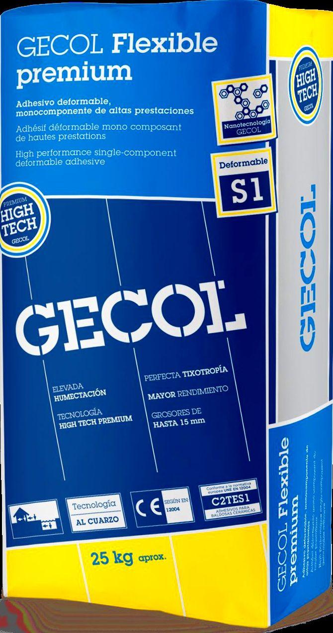 Gecol Flexible: Catálogo de Materiales de Construcción J. B.