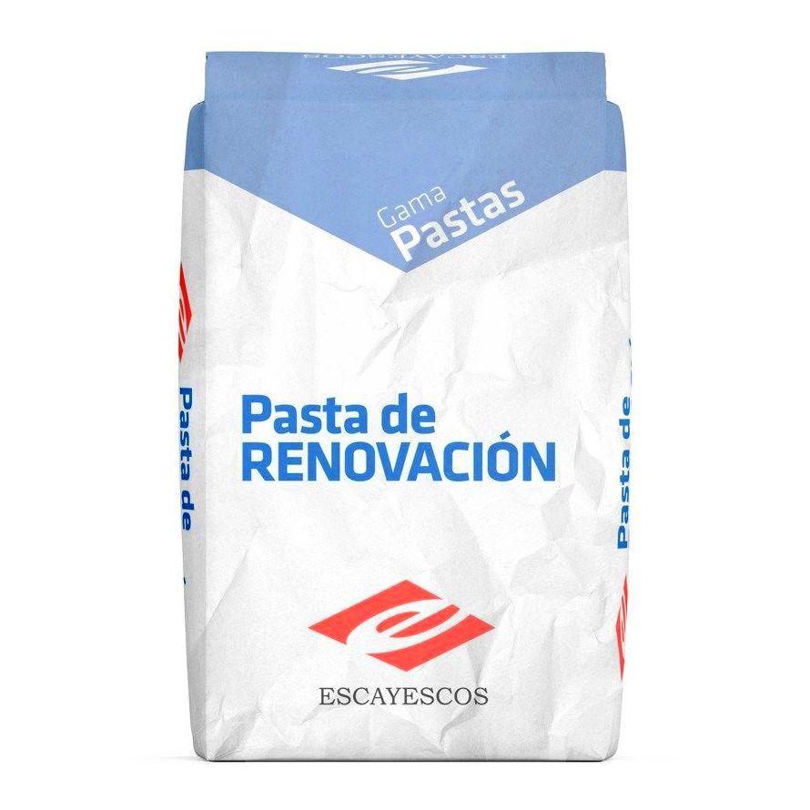 Pasta renovación