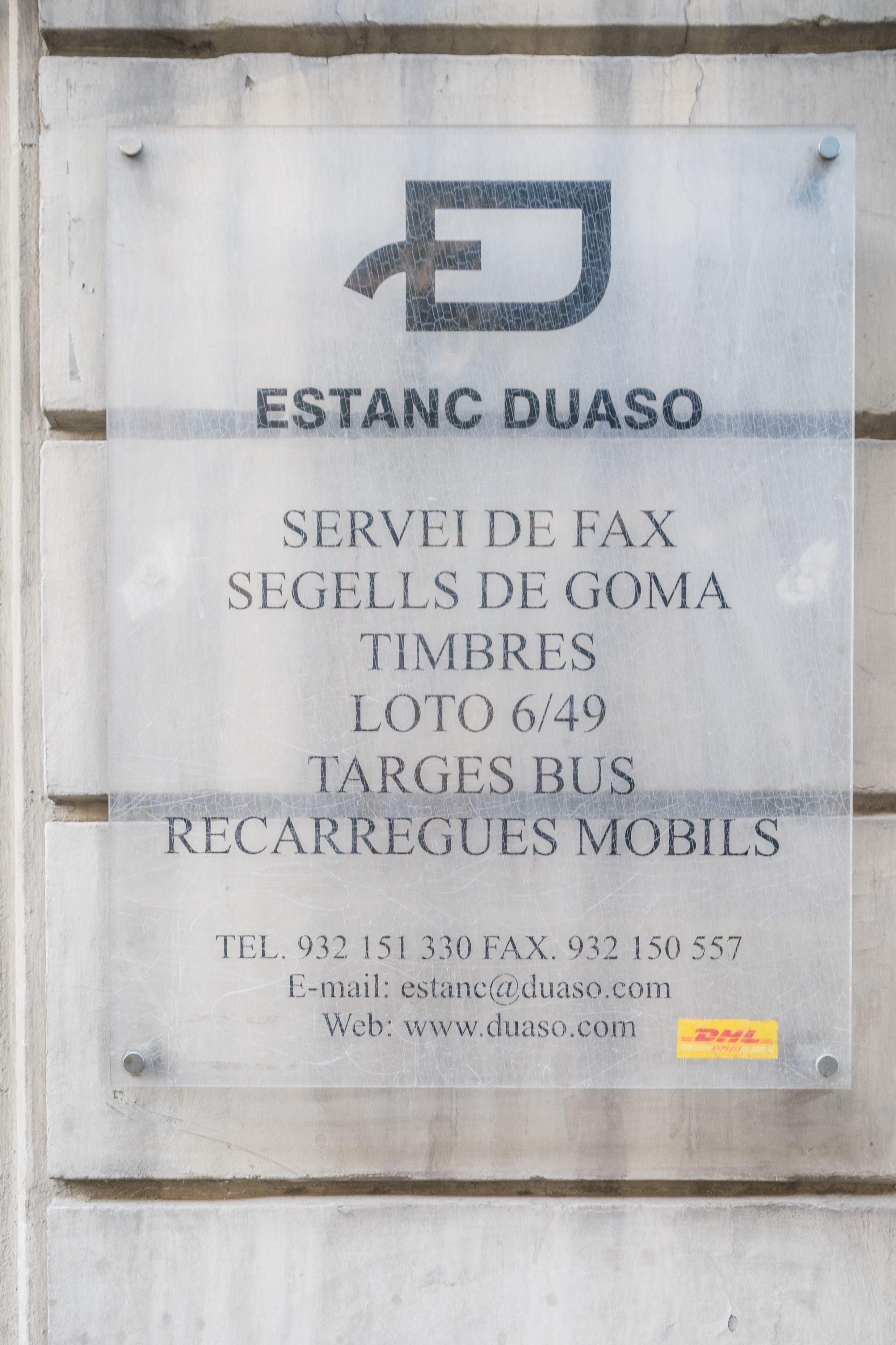 Foto 9 de Estancos en Barcelona | Estanc Duaso