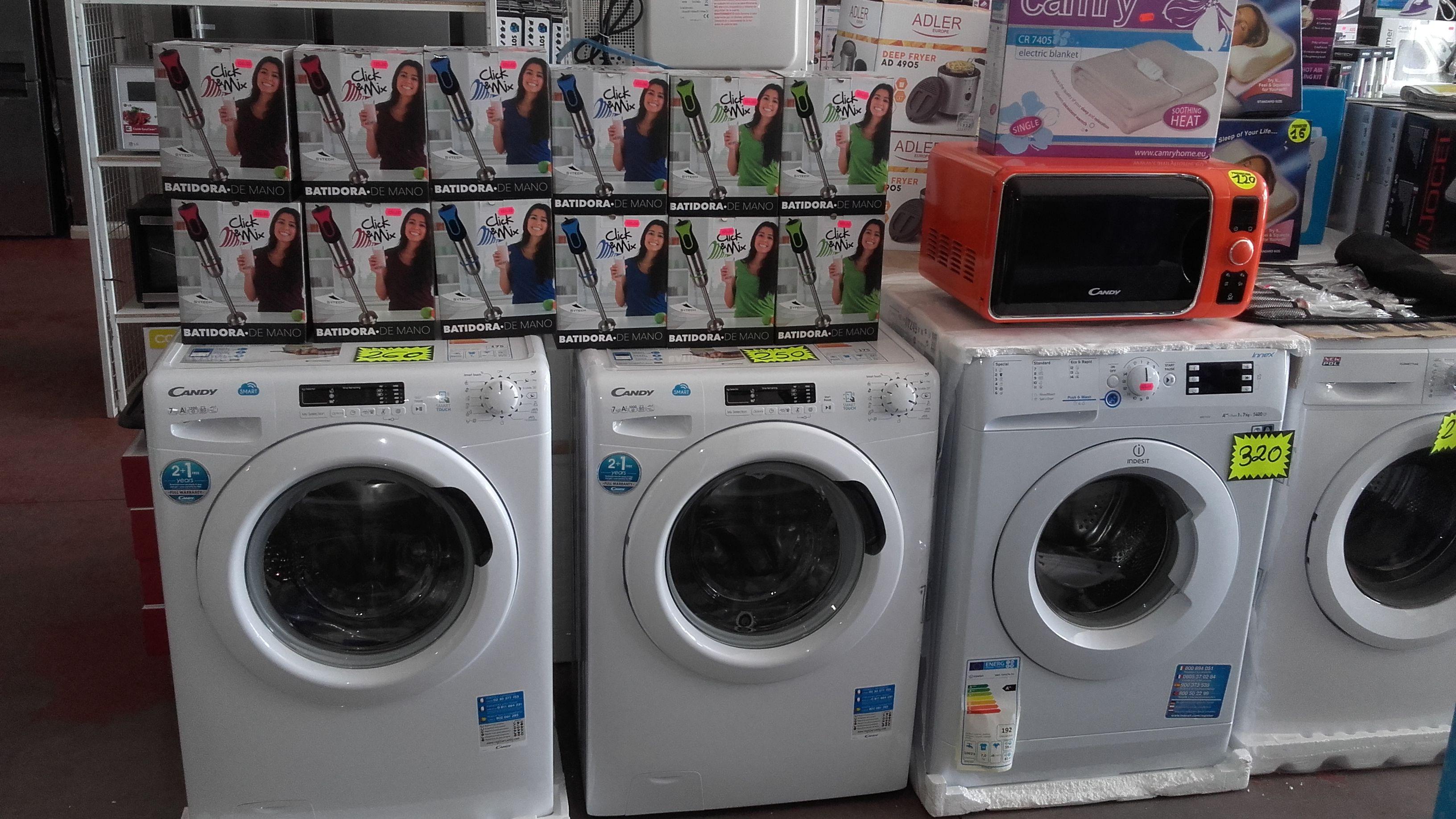 Venta de lavadoras al mejor precio