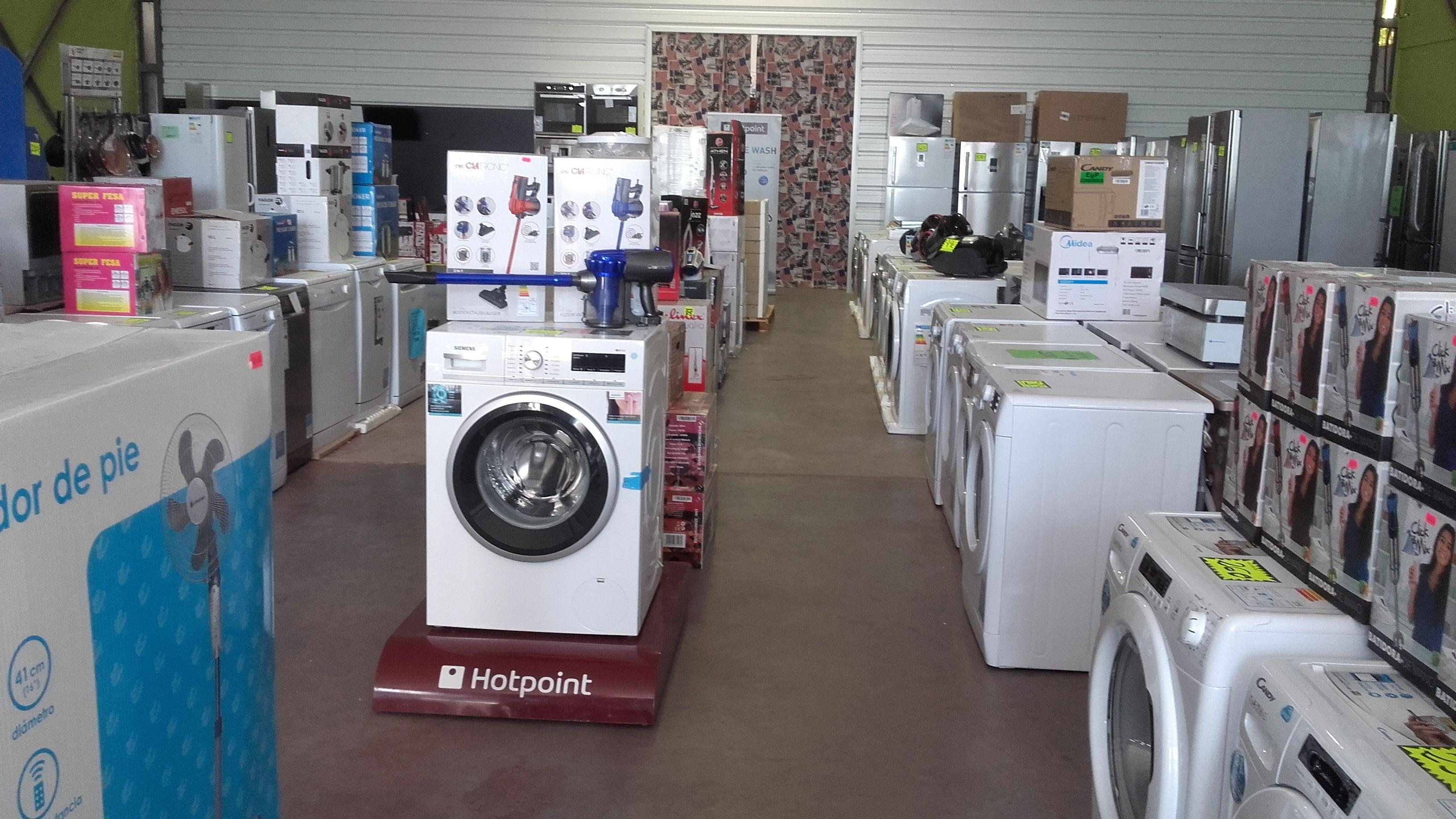 Venta de lavadoras de todas las marcas