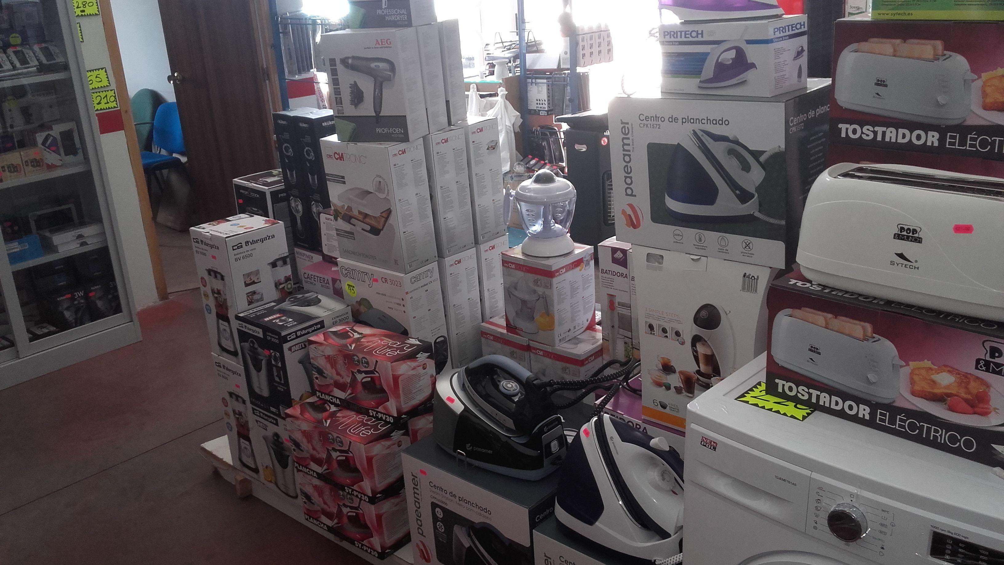 Pequeños electrodomésticos en Toledo