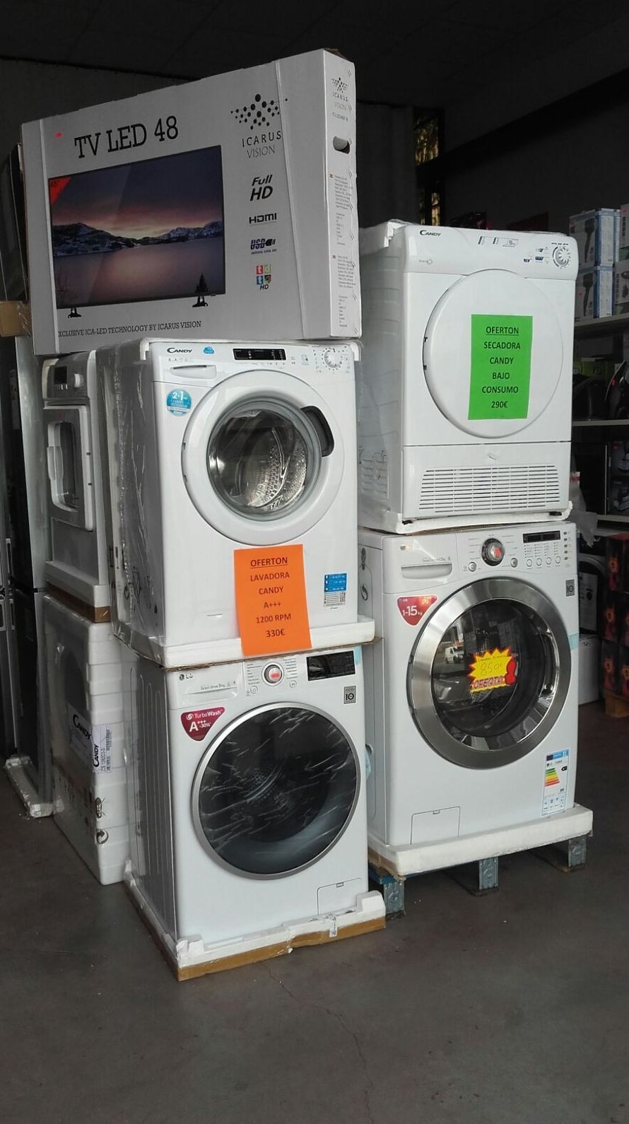 Oferta de lavadoras en Electrobox