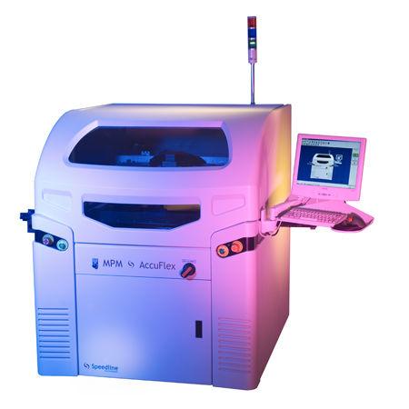 Serigrafía automática SMD con inspección óptica