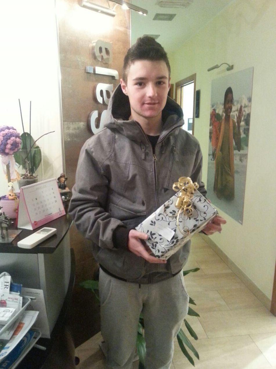 Ganador del sorteo navideño de un cepillo eléctrico  : Sergio Sampeiro García
