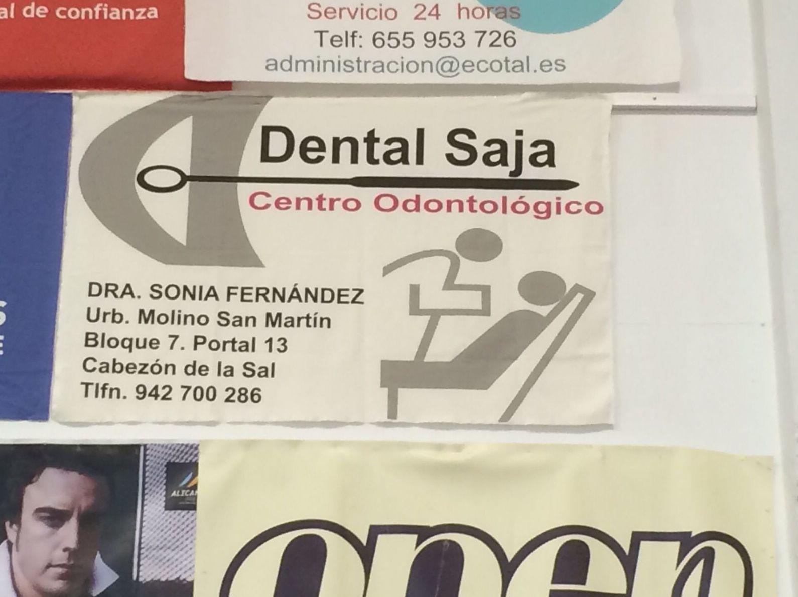 Dental Saja con el deporte. También apoyamos al volleyball