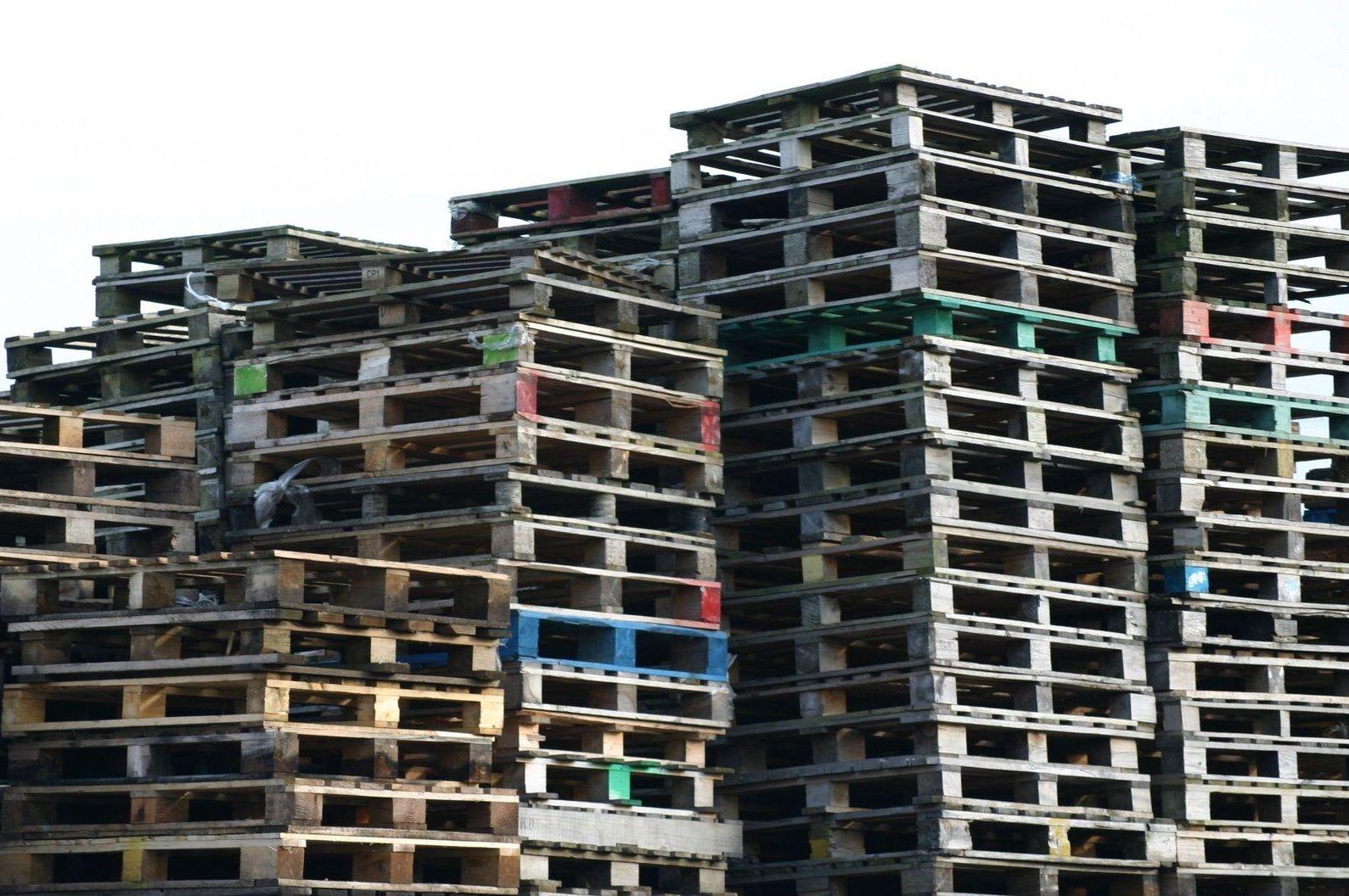 Empresa de reciclaje de palets