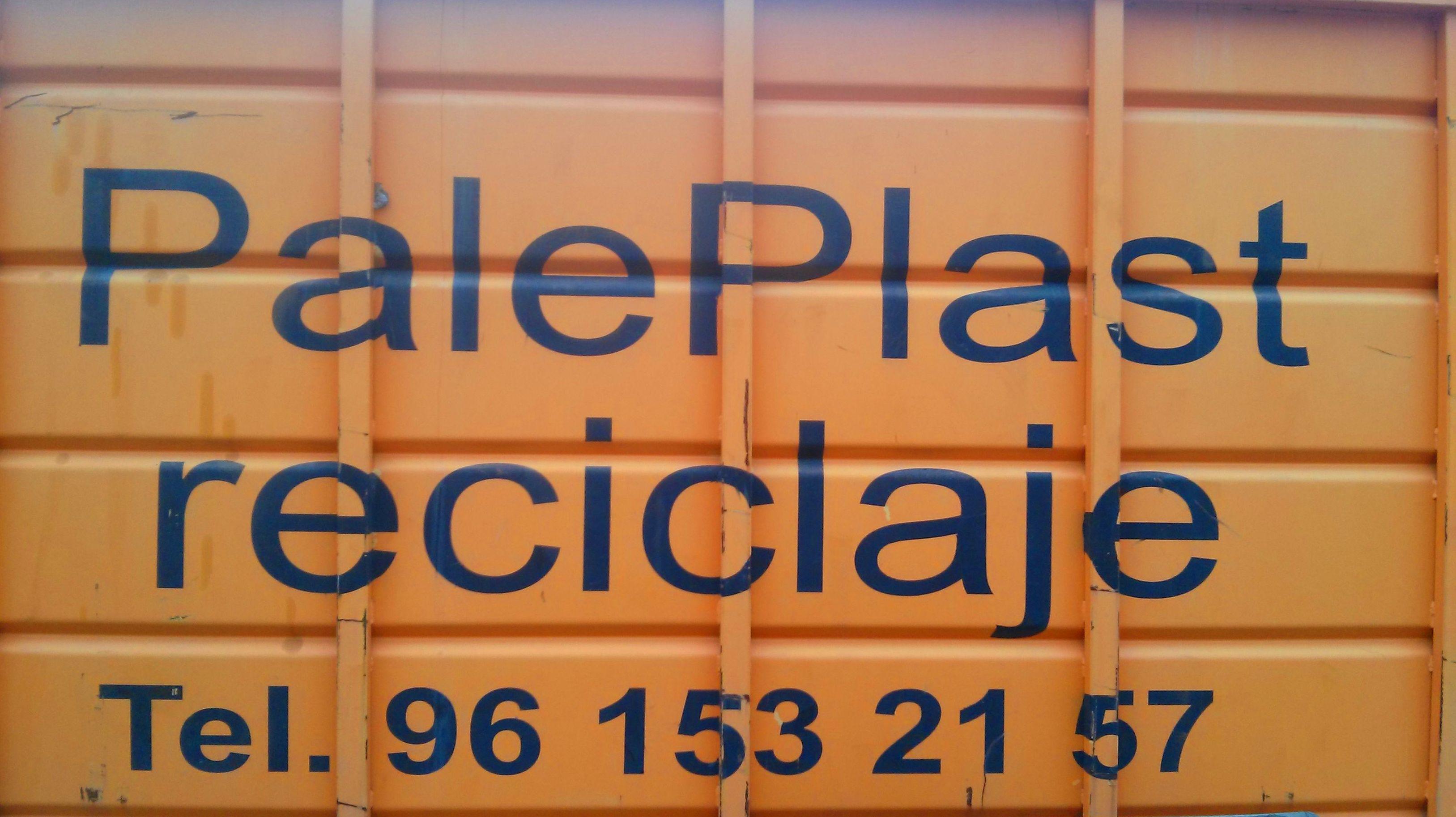 Foto 5 de Reciclaje de residuos en Manises | PalePlast, S. L.