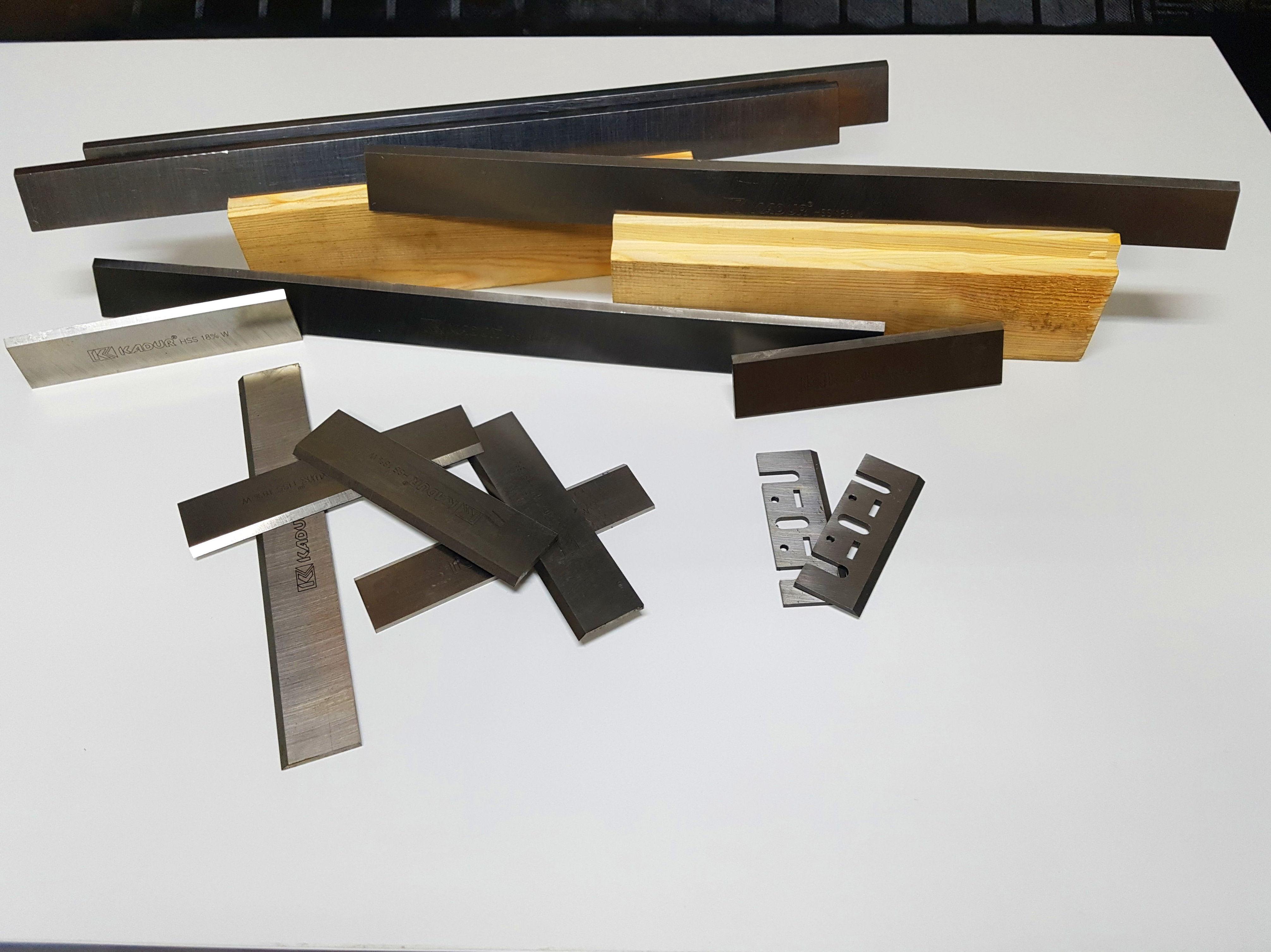 cuchillas cepilladora y cepillo
