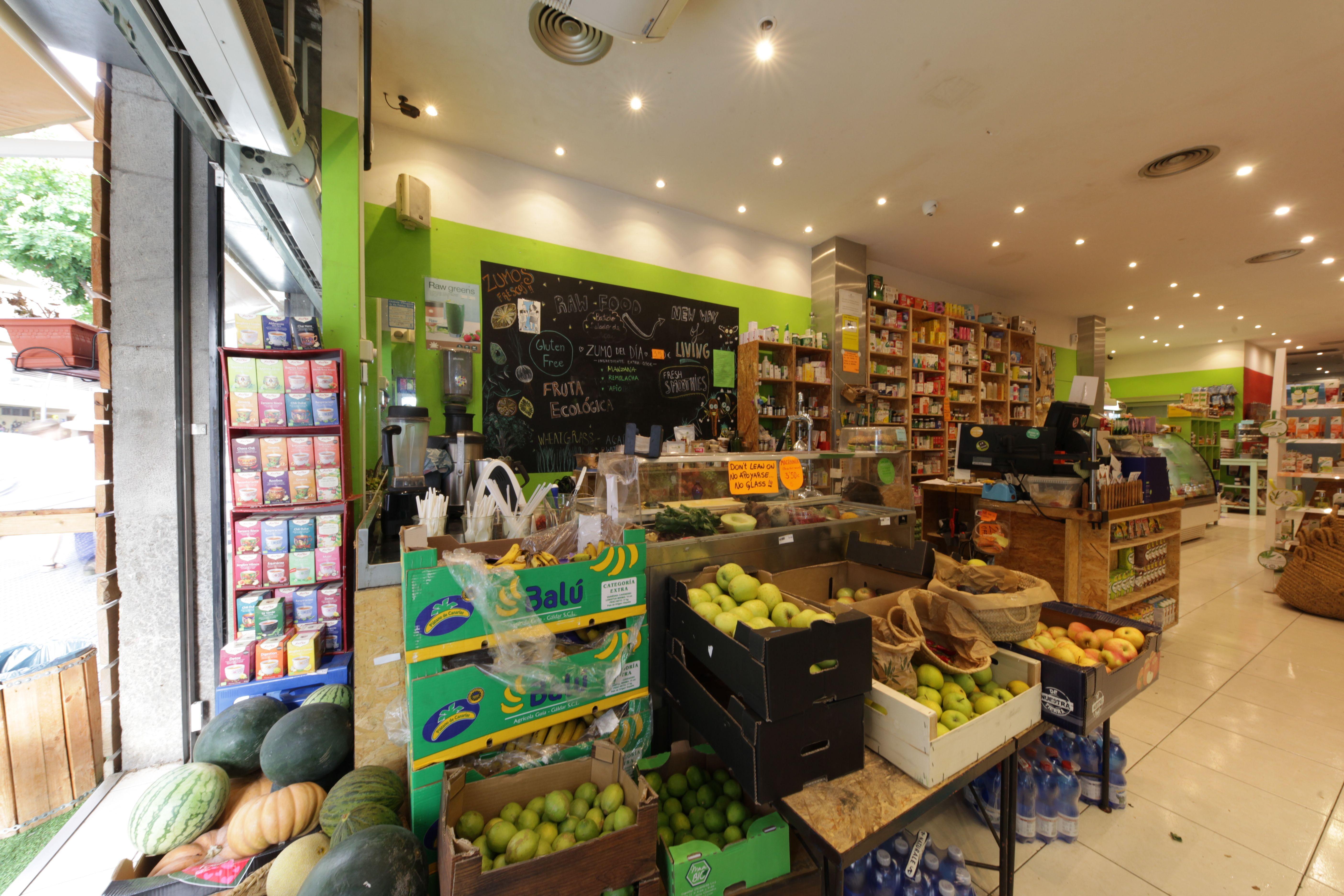 Frutas y verduras Biorganic Ibiza