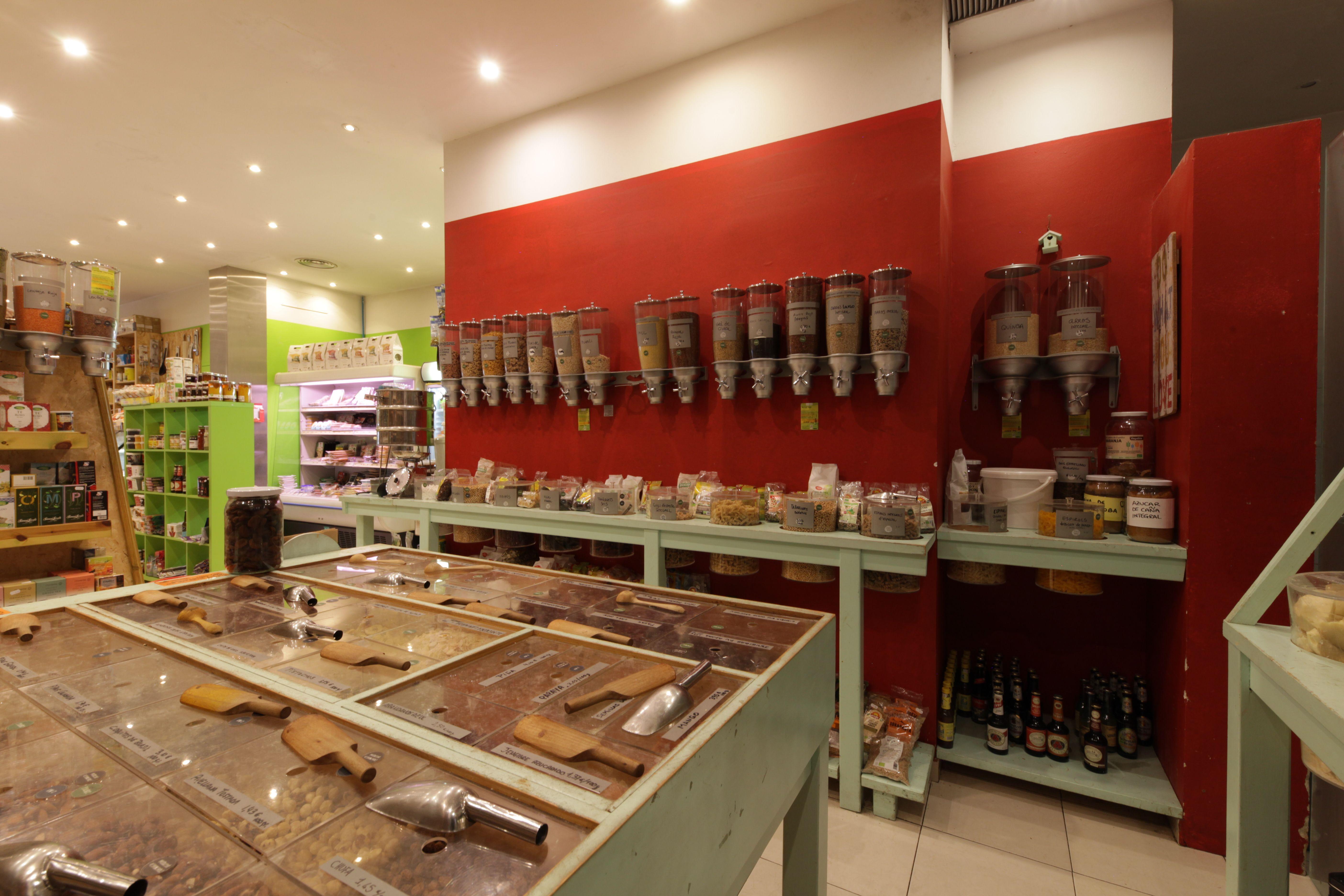 Amplia gama de alimentos Biorganic Ibiza