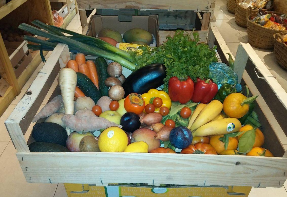 Frutas y verduras ecológicas en Ibiza