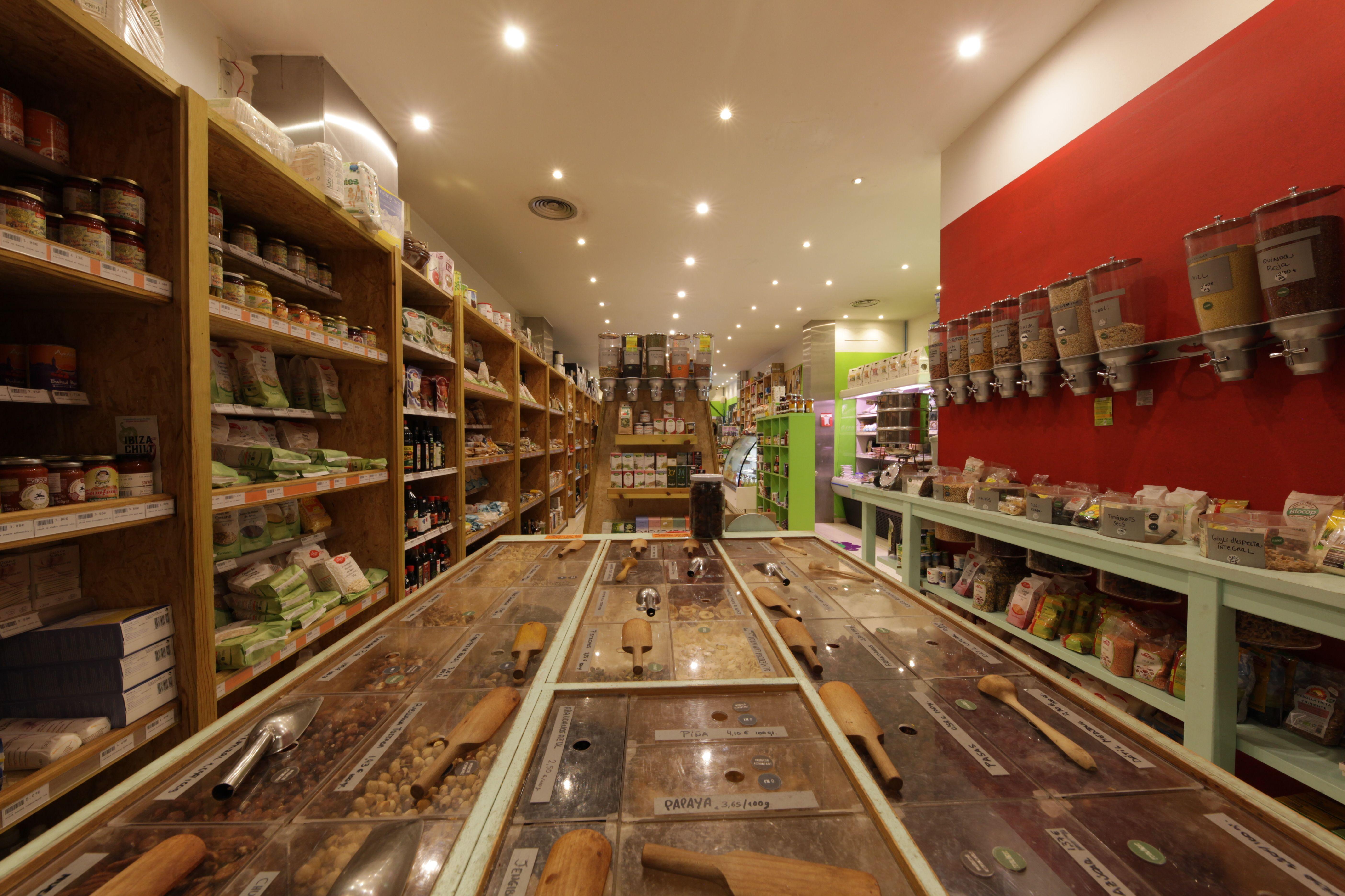 Alimentos orgánicos y veganos Biorganic Ibiza