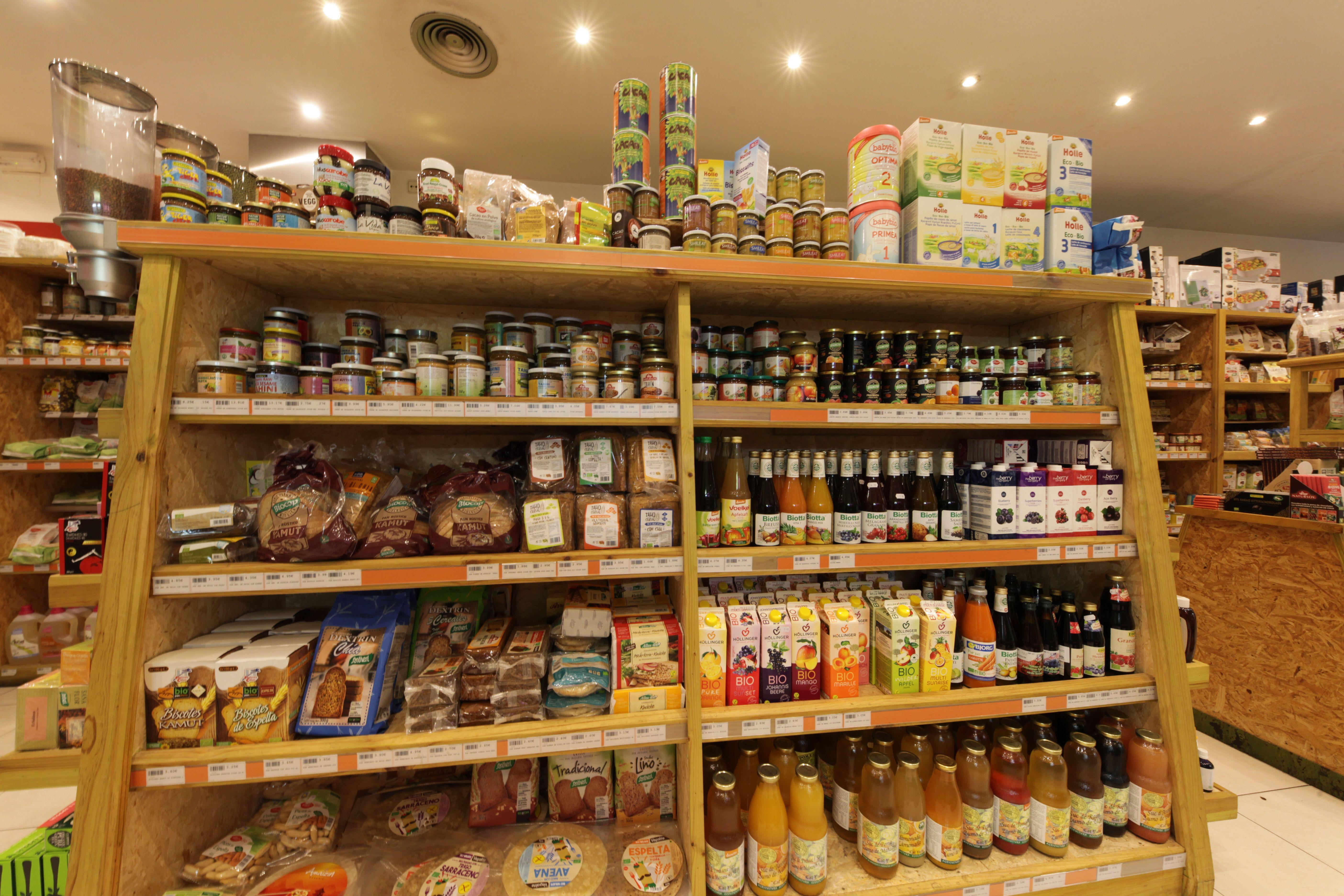 Productos ecológicos en Biorganic Ibiza