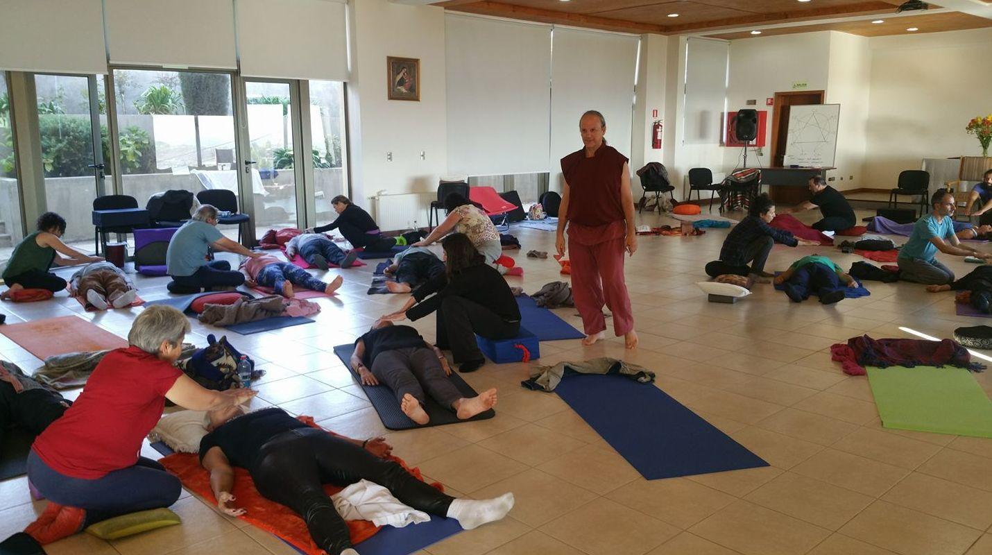 Práctica de la meditación Sagrada. SAT V Chile 17