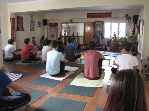 Práctica de yoga en Las Palmas de Gran Canaria