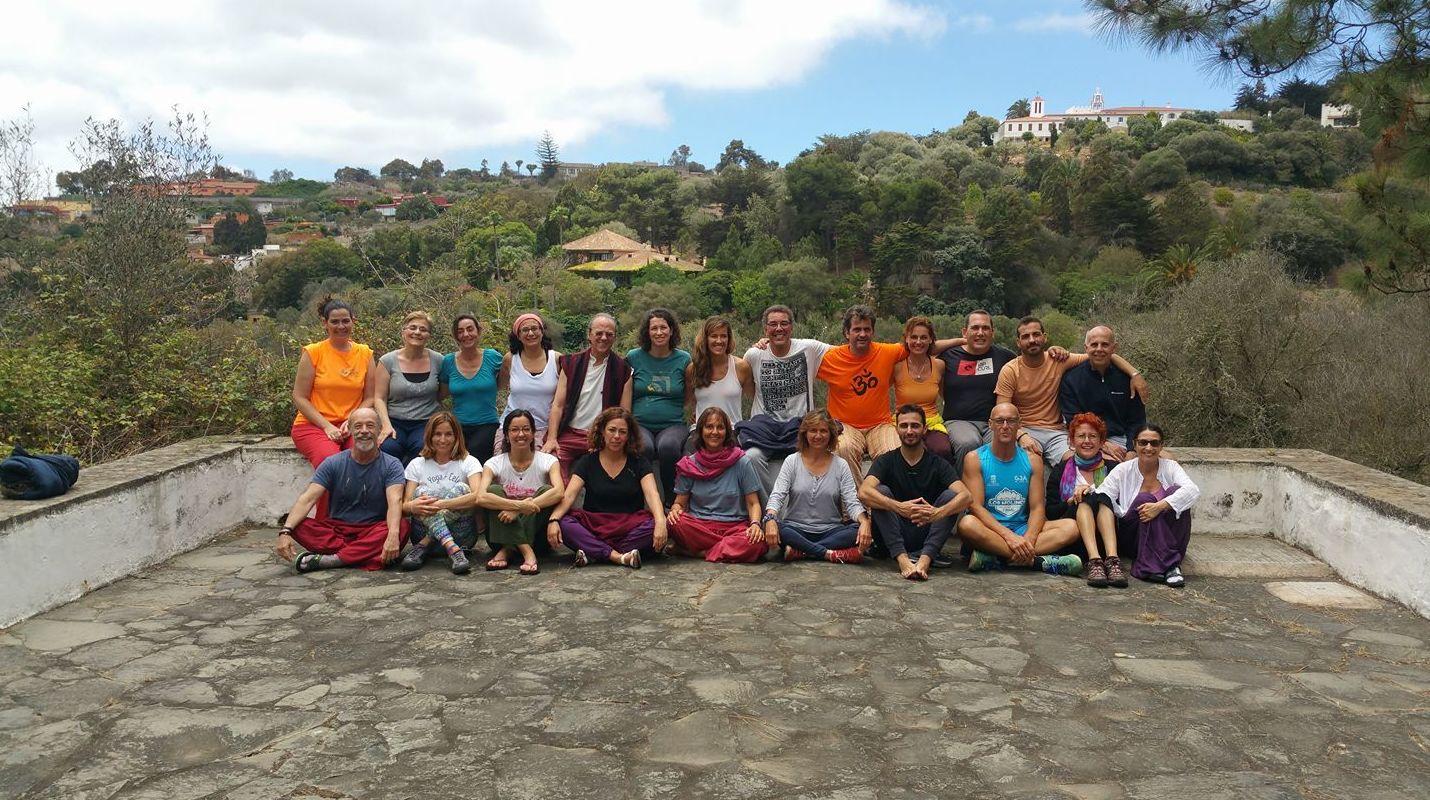 Participantes en el Retiro de Verano 2017, Centro Milarepa