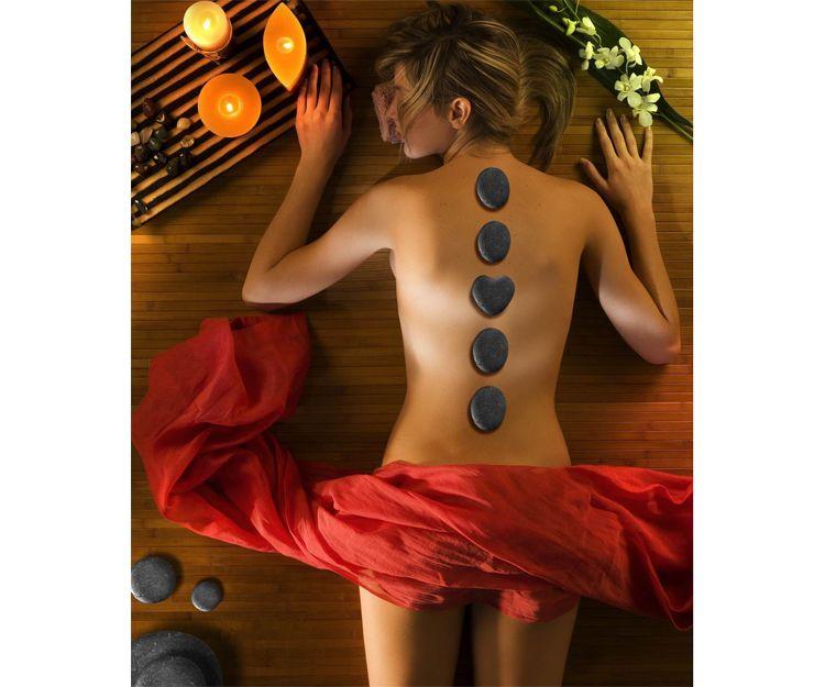 Masaje relajante de cuerpo completo con aceites calientes