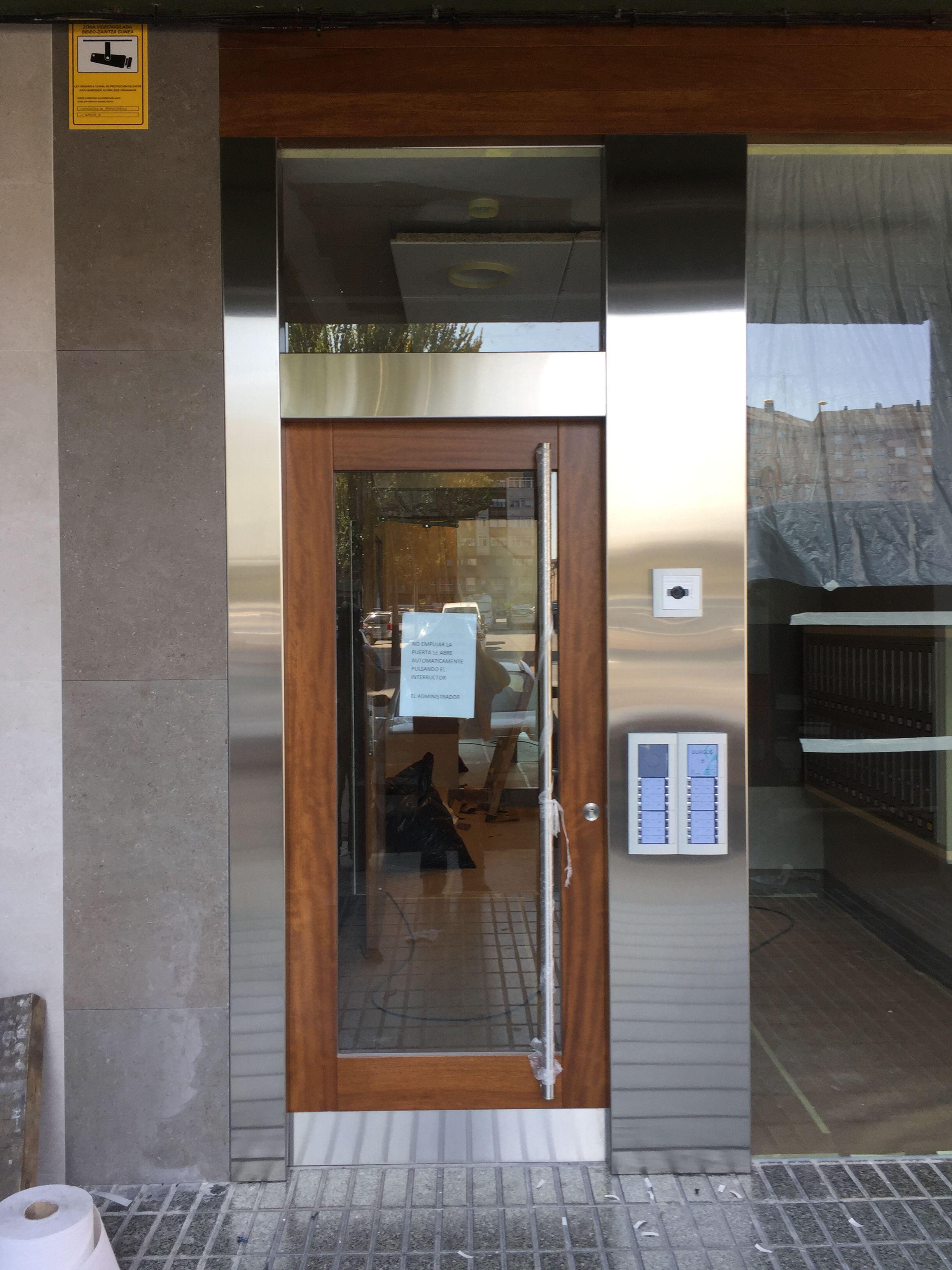 Puertas de hierro en Álava