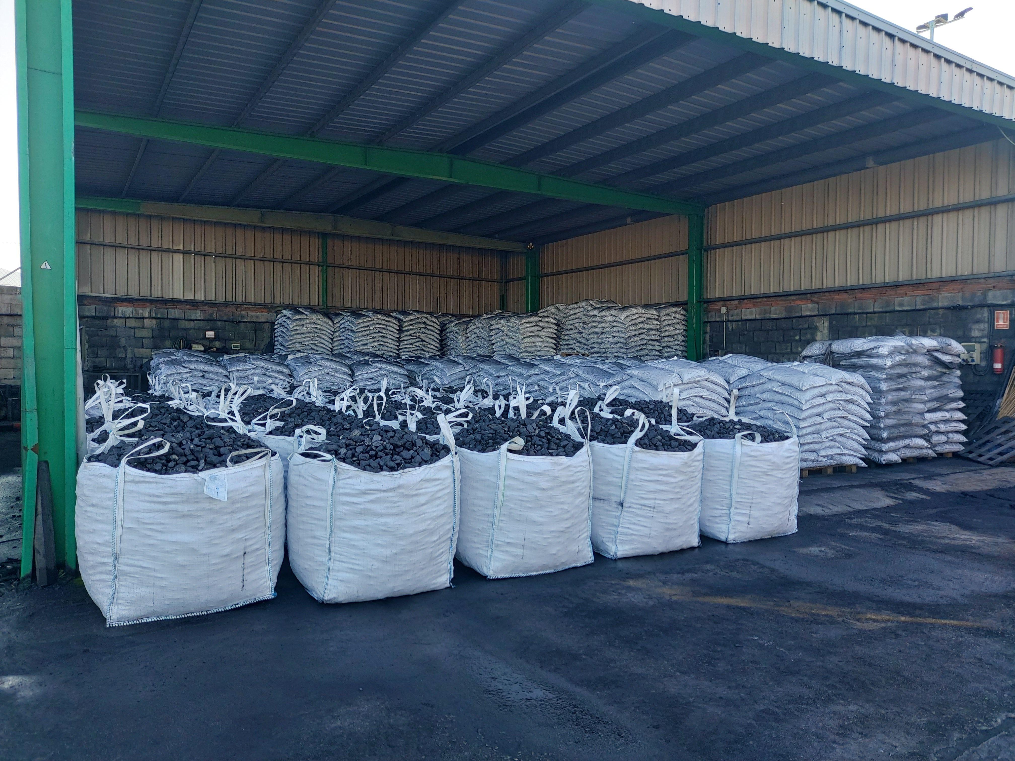 Carbón mineral en el Bierzo