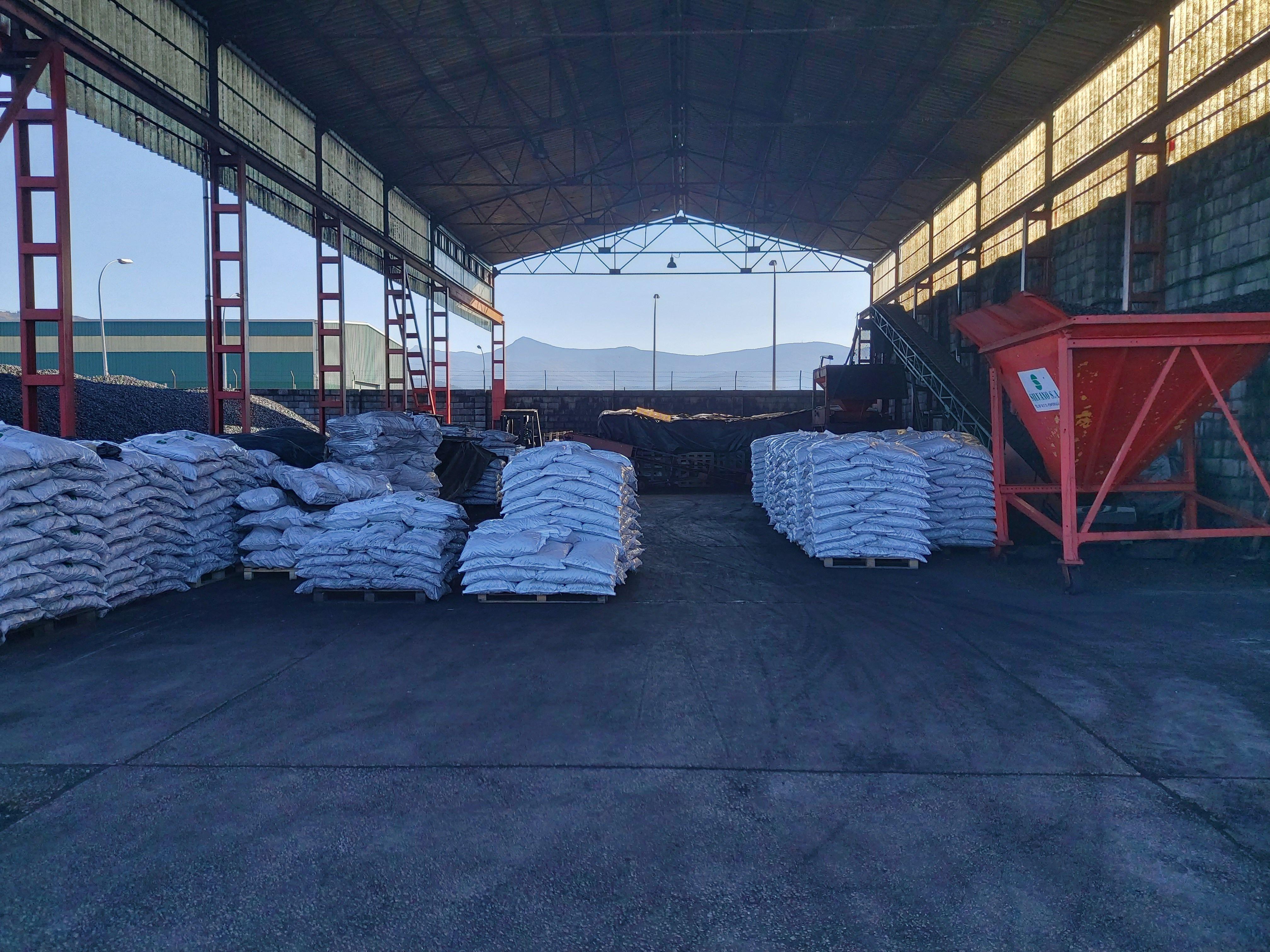 Venta y distribución de carbón mineral en el Bierzo