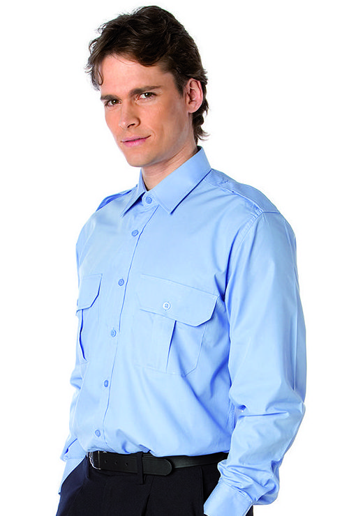 Camisa para uniforme de  hombre