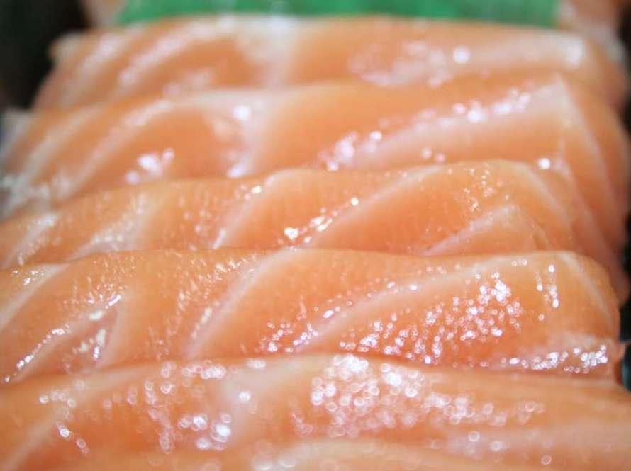 Sashi salmón