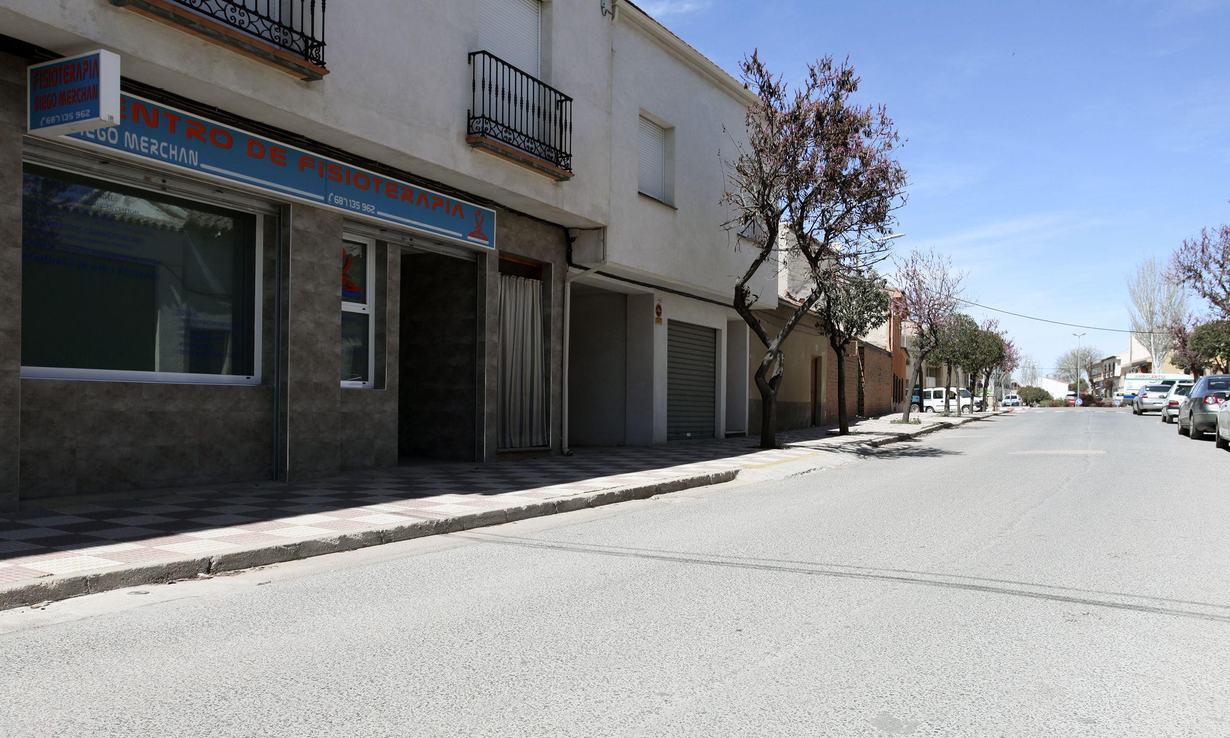 Consulta de fisioterapia en Madridejos