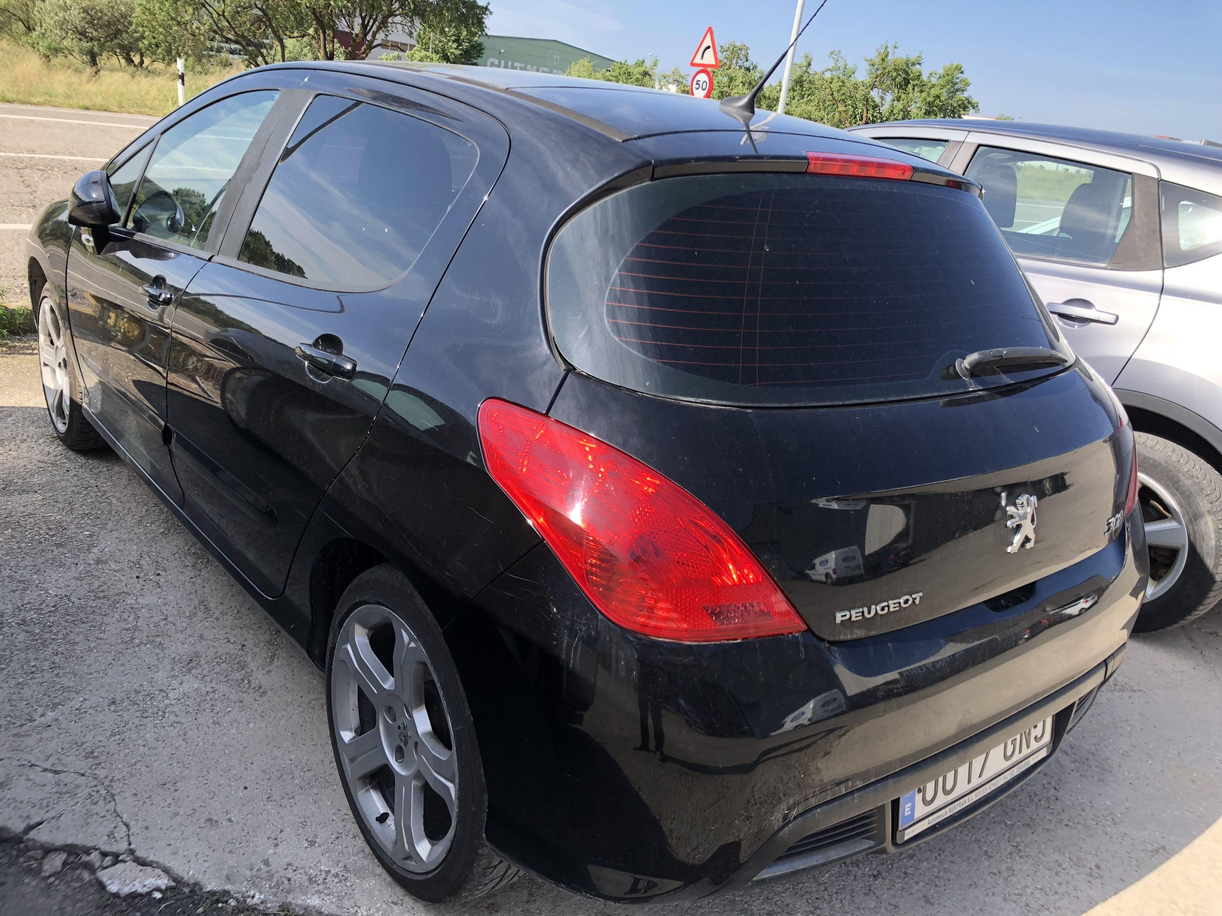 Pegeot 308 hdi 136cv 4900€: Coches Km 0 y de ocasión de Automoció Bertran S L