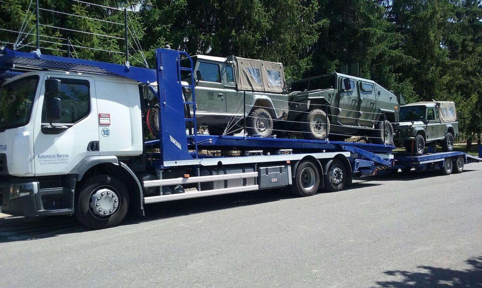 Grúa para traslados nacionales: Coches Km 0 y de ocasión de Automoció Bertran S L