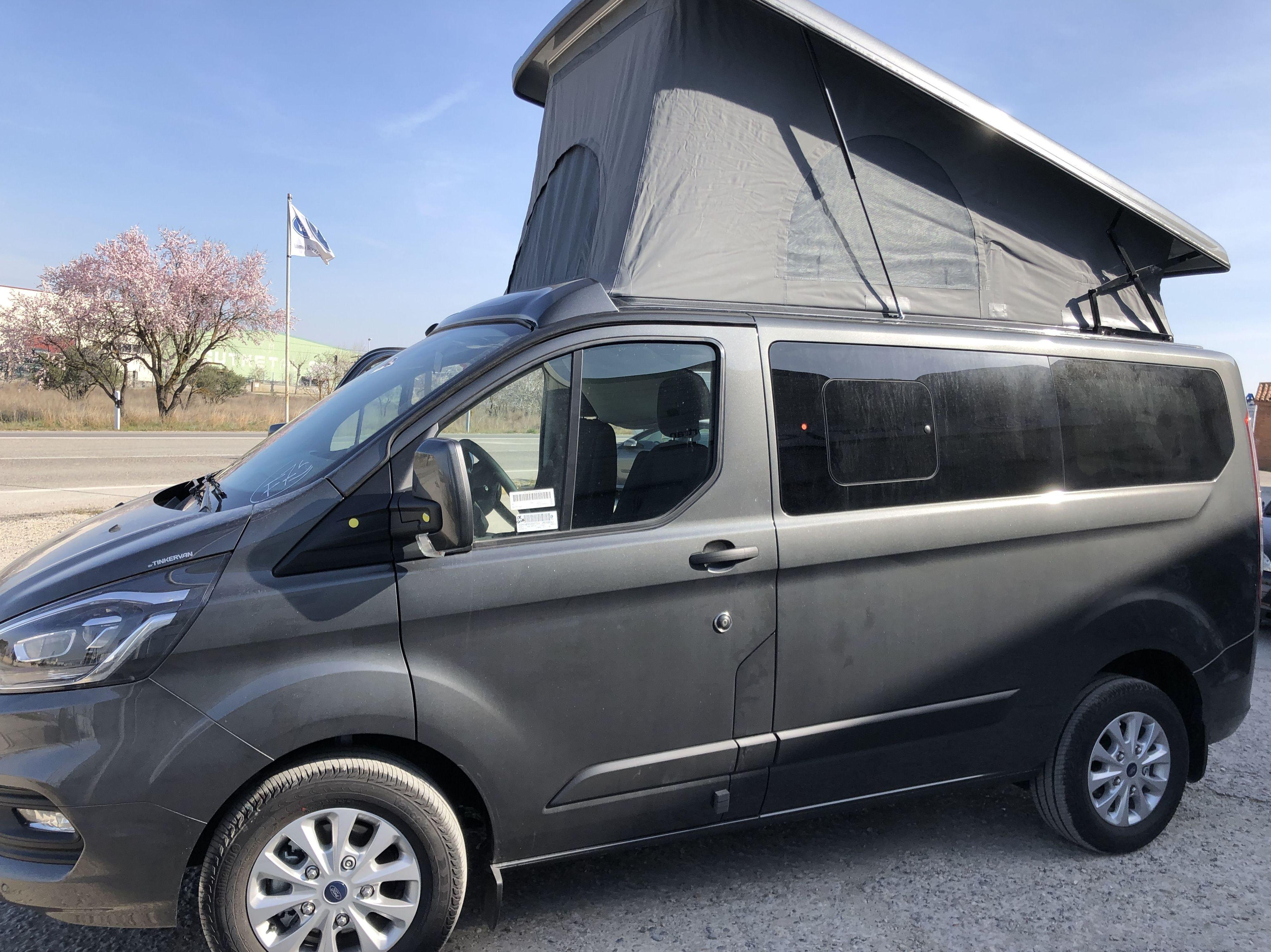 Ford Transit Custom Camper: Coches Km 0 y de ocasión de Automoció Bertran S L