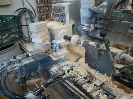 Realización de productos de madera