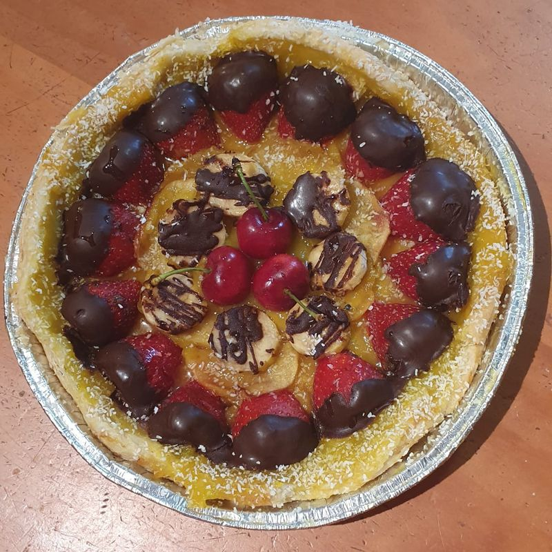 Tartas de frutas en Jaén
