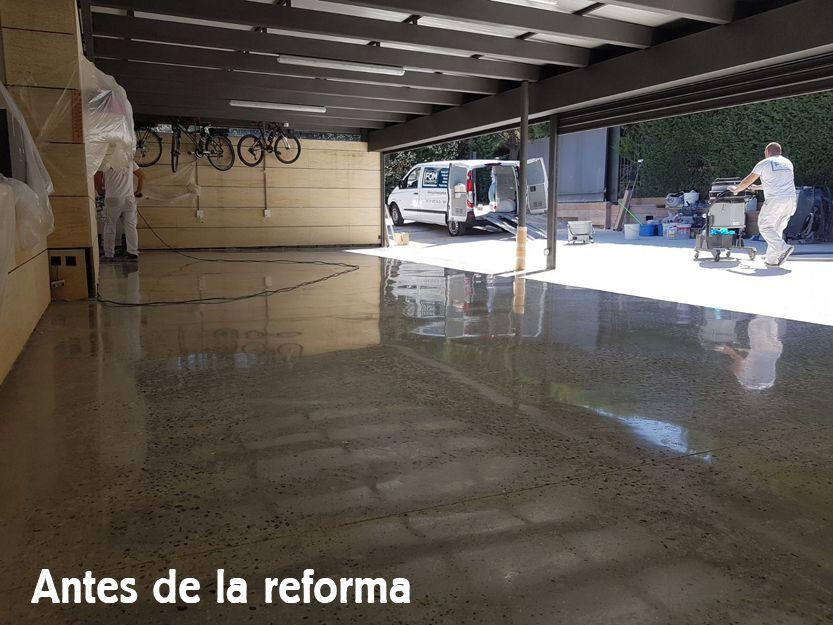 Empresa de reformas de garajes en Madrid