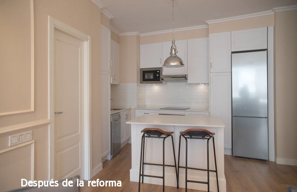 Reformas de pisos y locales en Madrid